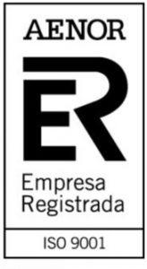 AENOR Empresa Registrada ISO 9001