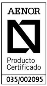 N AENOR producto certificado Montante 46