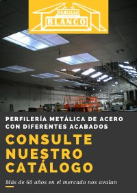 catálogo perfiles blanco aislamiento y conductos industriales