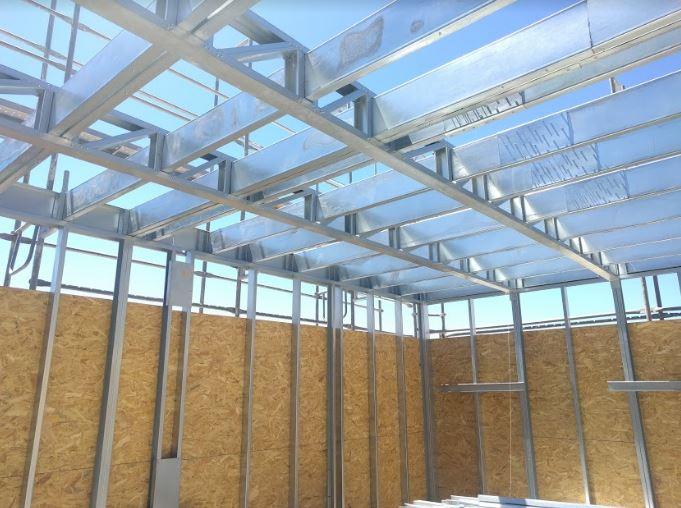 Tiempo de construcción steel framing