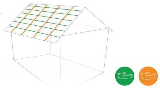 rastreles para cubiertas metalicas