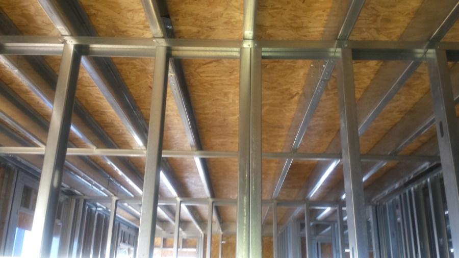 ampliación con steel frame