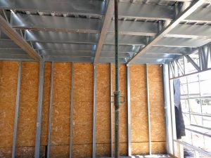 steel frame para obras civiles e industriales