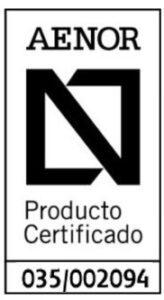 Certificado de calidad de Perfiles Blanco
